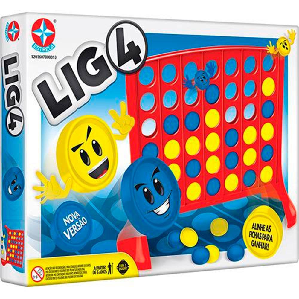 Jogo Lig-4 - Estrela
