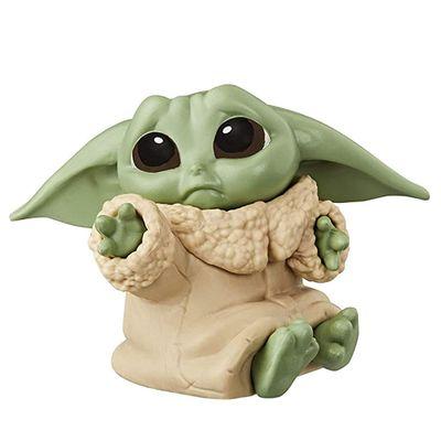 Mini-Figura-Colecionavel---5-Cm---Disney---Star-Wars---The-Mandalorian---Baby-YodaTriste---Hasbro