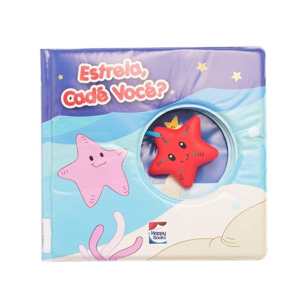 Livro de banho Happy estrela cadê você 300349