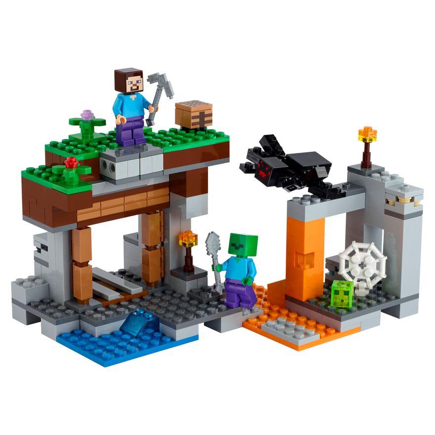 LEGO-Minecraft---A-Mina-Abandonada---21166--1