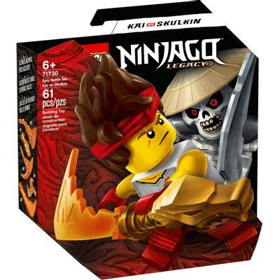 LEGO-Ninjago---Conjunto-de-Combate-Epico---Kai-vs-Skulkin---71730--0
