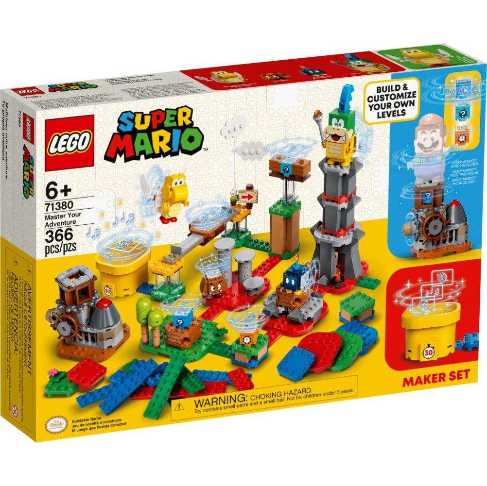 LEGO Super Mario - Pacote de Criação - Domine sua Aventura - 71380