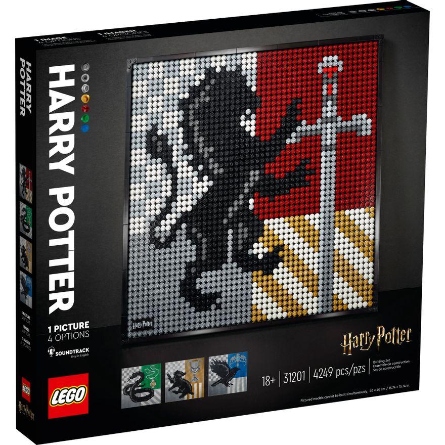 LEGO-Harry-Potter---Hogwarts-Crests---31201--0
