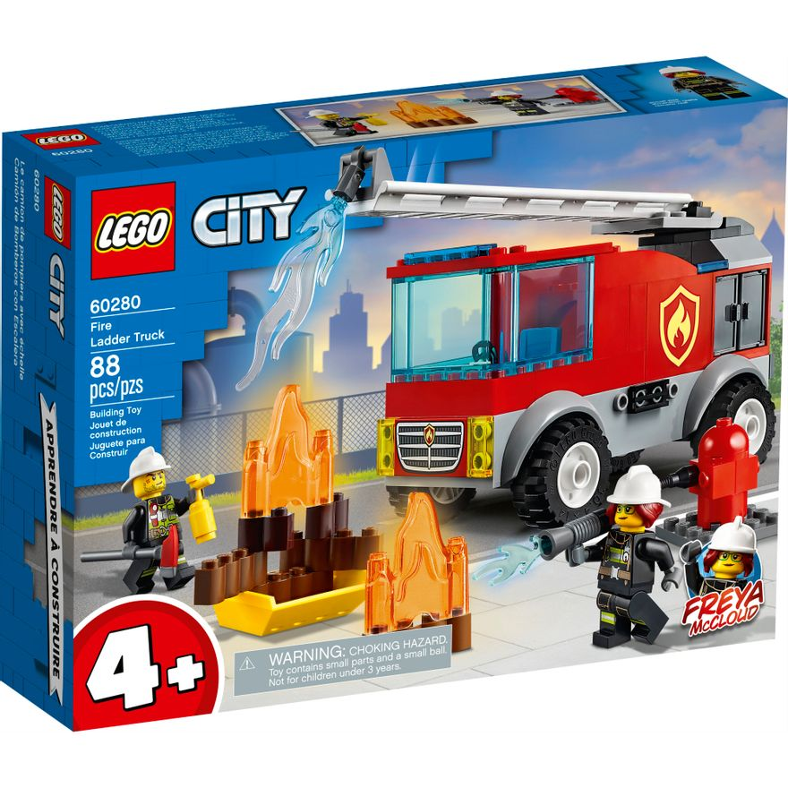 LEGO-City---Caminhao-dos-Bombeiros-com-Escada---60280--0