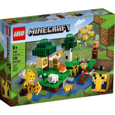 LEGO-Minecraft---A-Fazenda-das-Abelhas---21165--0