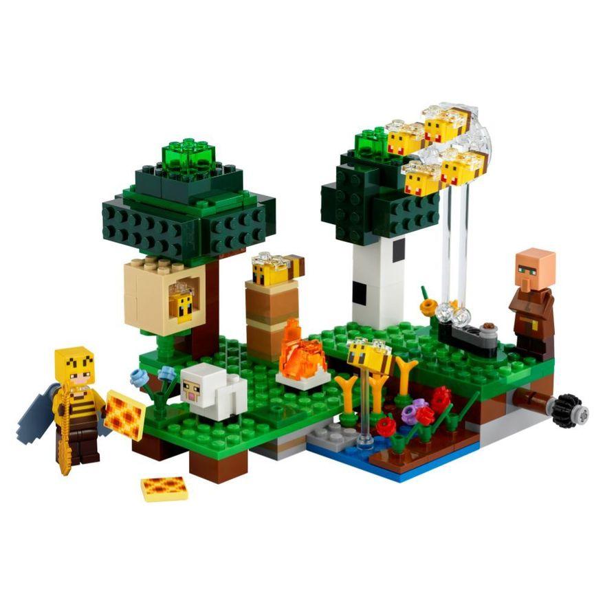 LEGO-Minecraft---A-Fazenda-das-Abelhas---21165--1