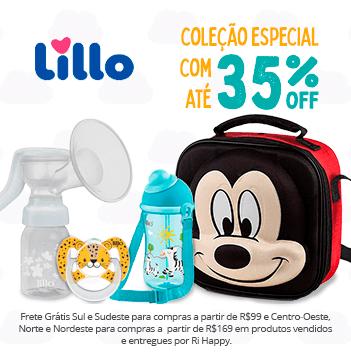 Coleção Especial Lillo com até 35% OFF